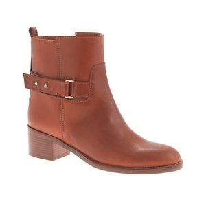 J. Crew Parker Ankle Boots, EUC! Leather